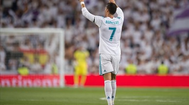 Cristiano Ronaldo dona el trofeu Bernabéu al Madrid (2-1)