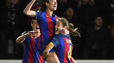 El Barça derrota el Rosengard i posa un peu a semifinals
