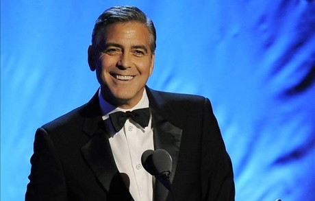 El actor George Clooney.