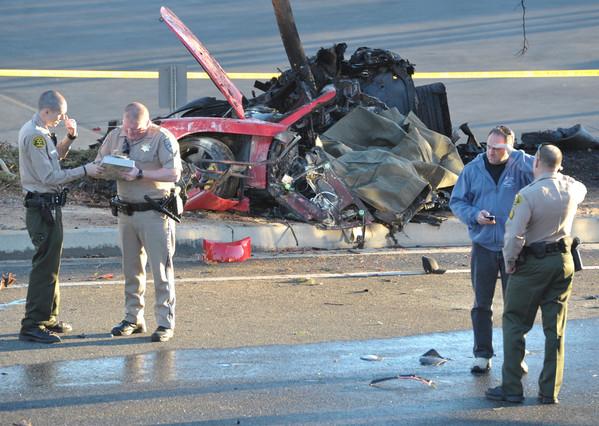 Accidente de coche Paul Walker