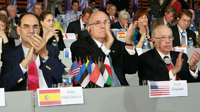 Vídeo de suport de Giuliani a Vidal-Quadras.