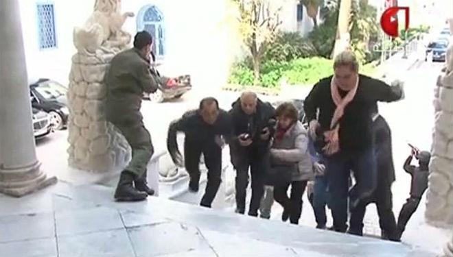 Imágenes del atentado en el Museo del Bardo de Túnez