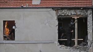 El apartamento de Saint Denis donde murió Chakib Akrouh el 18 de noviembre.