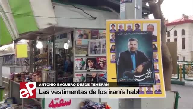 Las vestimentas de los iranís hablan