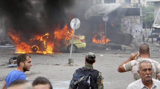 Dues cadenes datemptats de lEstat Islàmic causen una matança en dos feus dAssad