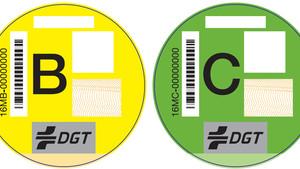 Etiquetas B y C de la clasificación