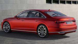 Zaga del nuevo Audi A8.