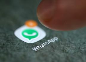 El logo de Whatsapp en un smartphone.