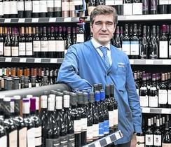 Carlos Lafuente, en la tienda Lafuente de Johann Sebastián Bach 20.