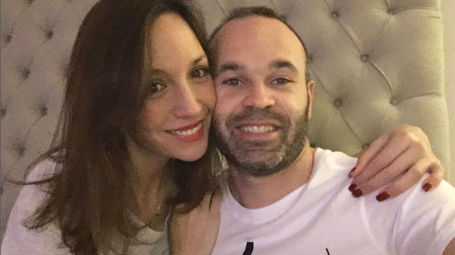 Andrés Iniesta i Anna Ortiz esperen el seu tercer fill