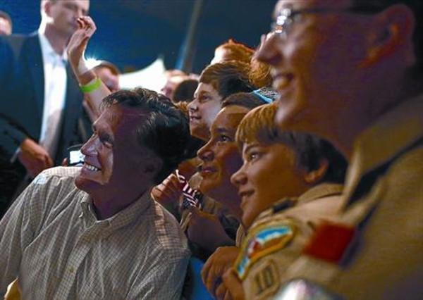 El Romney comandante en jefe