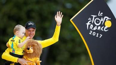 Rey Froome IV del Tour de Francia