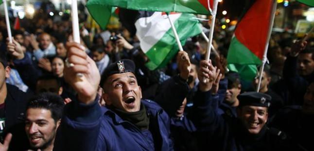 J�bilo en Palestina por ser Estado observador en la ONU