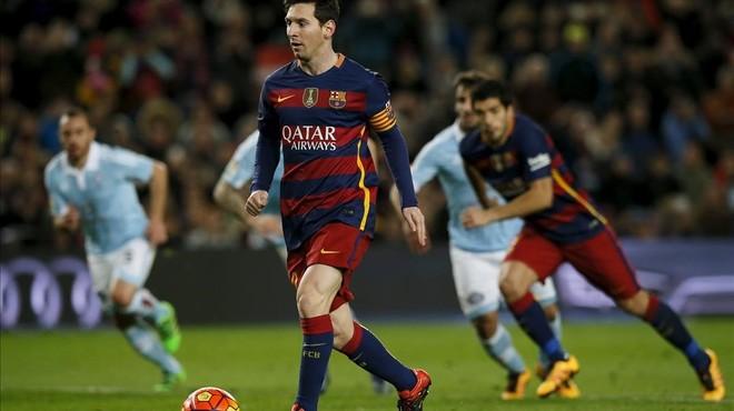 El madridisme s'indigna amb el penal indirecte de Messi