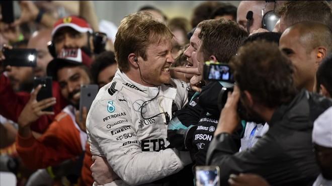 Rosberg repeteix a Bahrain la victòria d'Austràlia