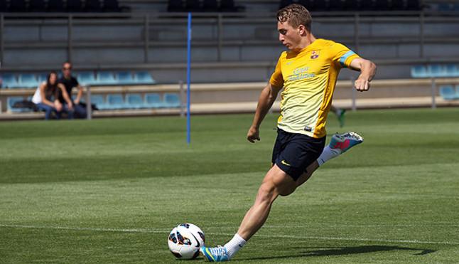 El Barça renueva a Deulofeu hasta el 2017