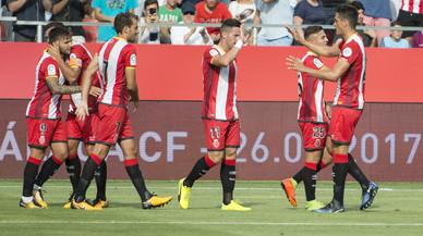 El Girona guanya el Manchester City i es carrega d'autoestima