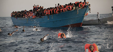 Italia cifra en 6.500 los rescatados en el Mediterr�neo un solo d�a