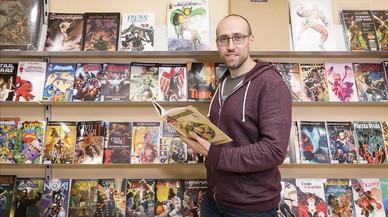 Iván Fernández: «El dibuixant de còmic es busca la vida fora»