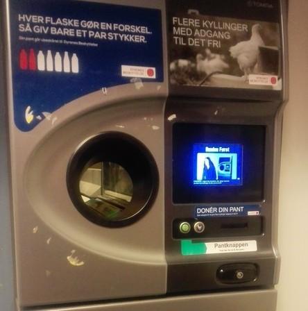 Máquinas de reciclaje en Copenhagen, un ejemplo a seguir