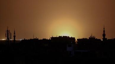 Una forta explosió sacseja l'aeroport de Damasc