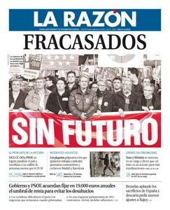 El 14-N no existió y fue un fracaso, que España trabajó, dice la caverna