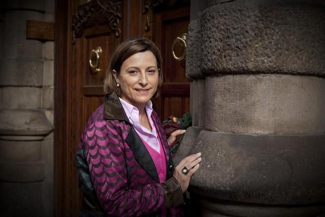 Carme Forcadell, reelegida presidenta de la Assemblea Nacional Catalana