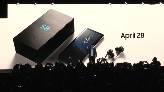 El Samsung Galaxy S8, un smartphone sin límites, a la venta el 28 de abril.