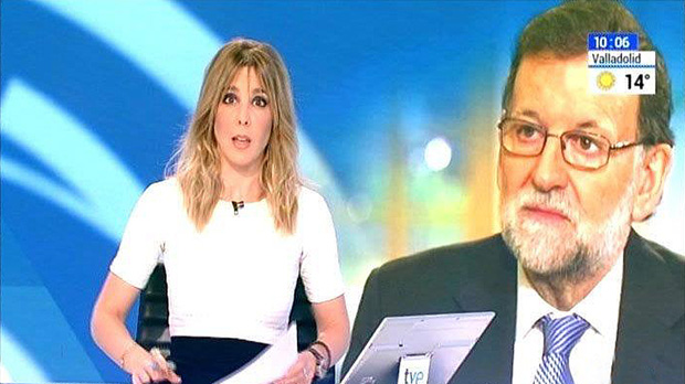 TVE-1: Rajoy, o la aurora boreal