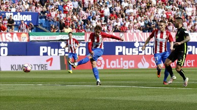 Griezmann lidera la golejada de l'Atlètic a l'Sporting (5-0)