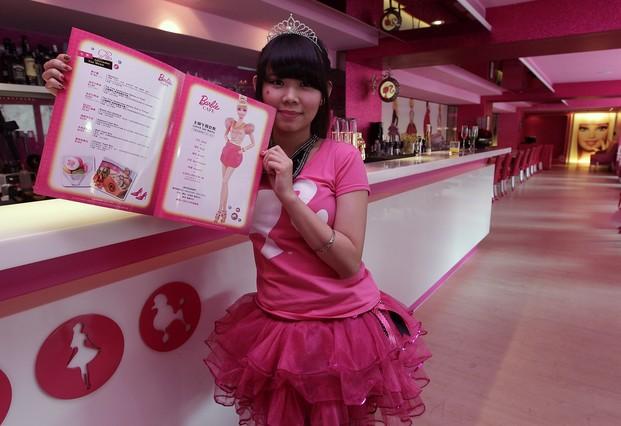 Mattel abre en Taiwán un restaurante temático de Barbie