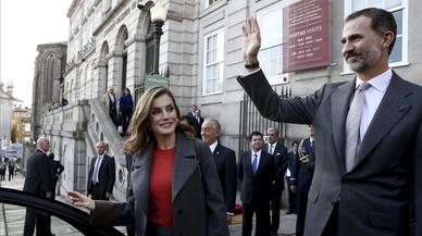 El Rei fa una crida a reforçar encara més els llaços econòmics amb Portugal