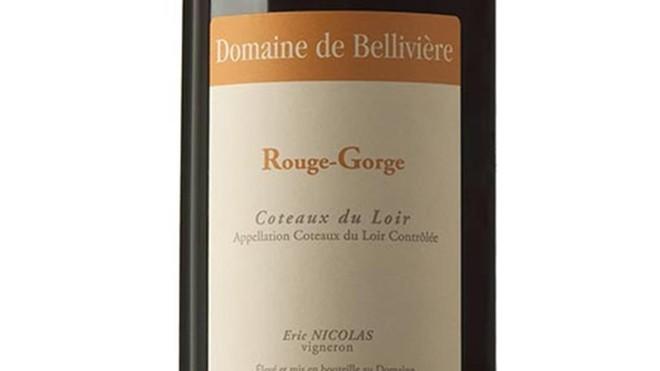 El vino Rouge-Gorge 2015.
