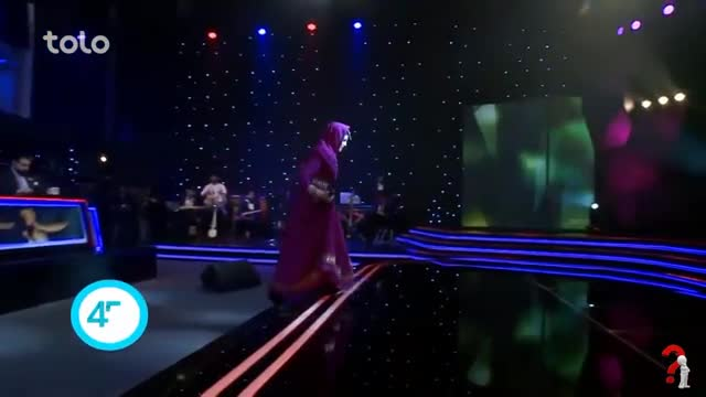 Una mujer es finalista de un 'talent show' afgano por primera vez