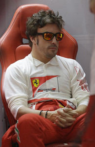 Fernando Alonso, tras la clasificacin.