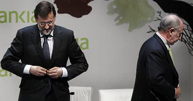Rajoy y Rato, en el 2012.