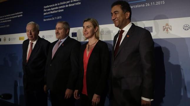 Apertura de la Conferencia Unión del Mediterráneo en Barcelona