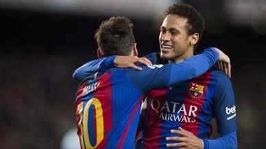 "Neymar: ""Dimecres farem un partidàs contra el París SG"""