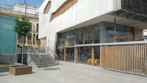 El bar Mirinda de Mataró, ubicado en la Plaça de Can Xammar, en un local de propiedad municipal.