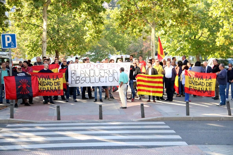 Protesta de la Falange