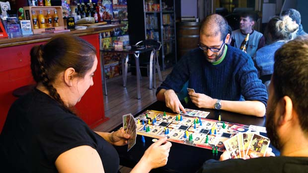 On Barcelona - Juegos de mesa en bares