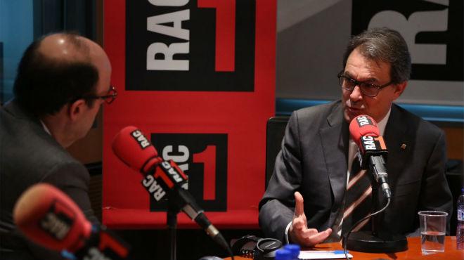 """Artur Mas ha destacado que las situaciones de Catalunya y Crimea no tienen """"nada que ver""""."""