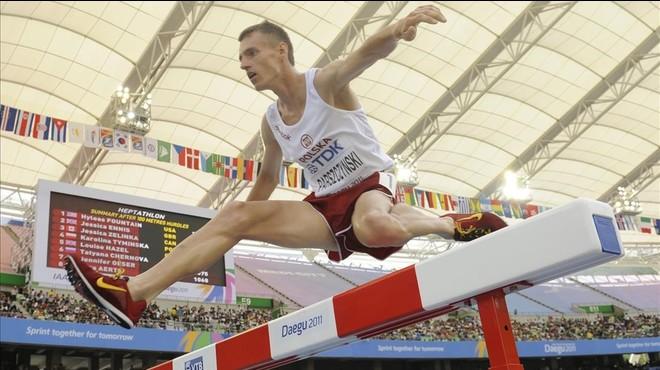 El atleta polaco Lukasz Parszczynski.