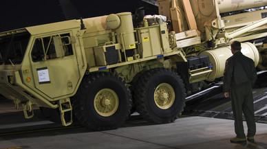 Estados Unidos irrita a China al empezar el despliegue de un sistema antimisiles en Corea del Sur