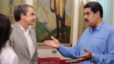 Zapatero torna a Caracas per buscar ponts de diàleg entre el Govern i l'oposició