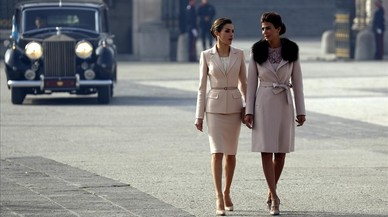 Dies de tango a Madrid amb la Reina, Juliana Awada i Irene Montero