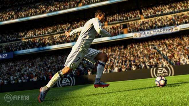 Imagen de Cristiano Ronaldo en el nuevo FIFA 18.