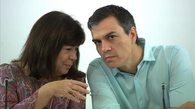 """El PSOE demana a la premsa """"col·laboració"""" contra el relat independentista"""