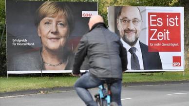 Merkel espera plàcidament la seva quarta victòria electoral