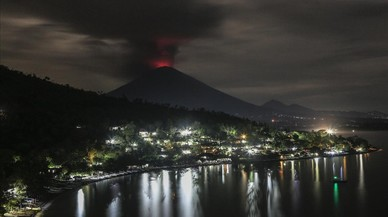 El Monte Agung visto desde Amed Karangasem